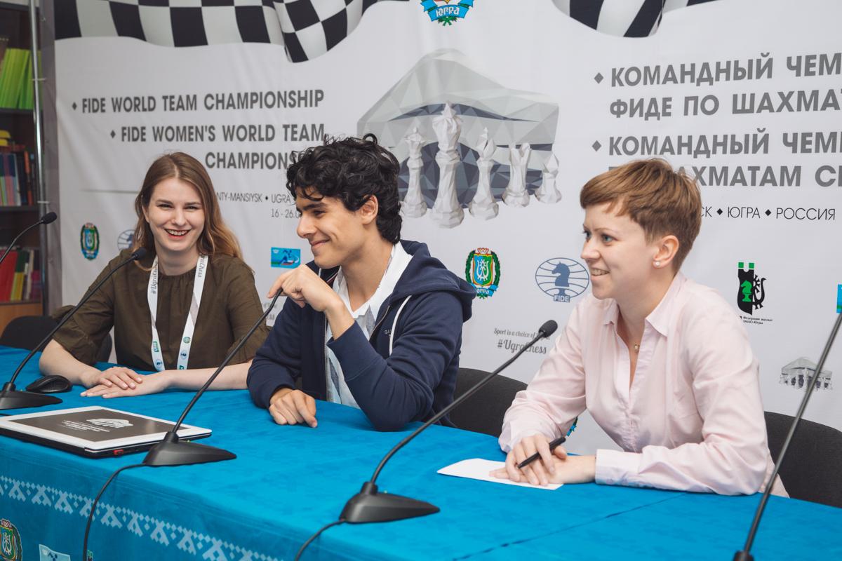 Aryan Tari Does Magnus Carlsen Help Us It Is A Secret World Team Chess Championship 2017